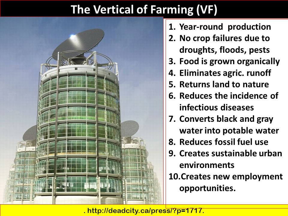 The Vertical of Farming (VF)