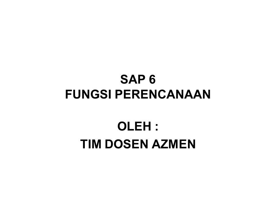SAP 6 FUNGSI PERENCANAAN
