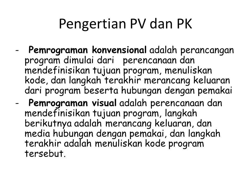 Pengertian PV dan PK