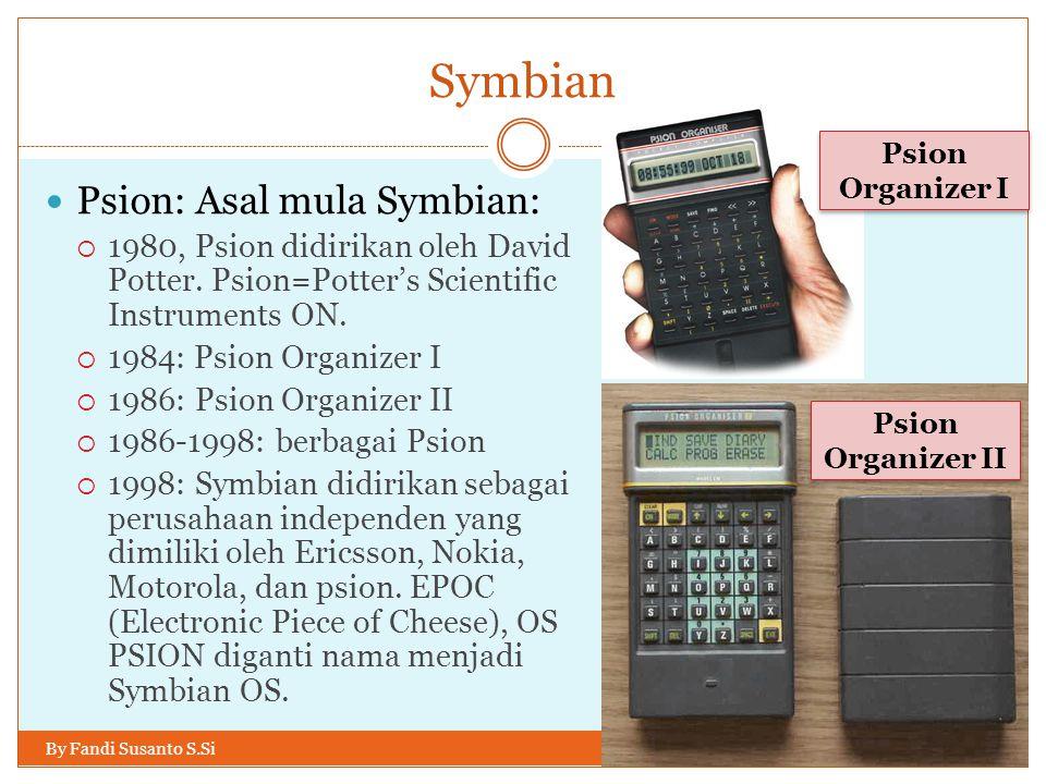 Symbian Psion: Asal mula Symbian: