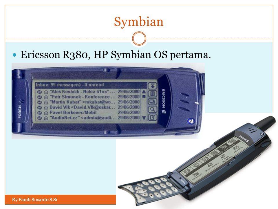 Symbian Ericsson R380, HP Symbian OS pertama.