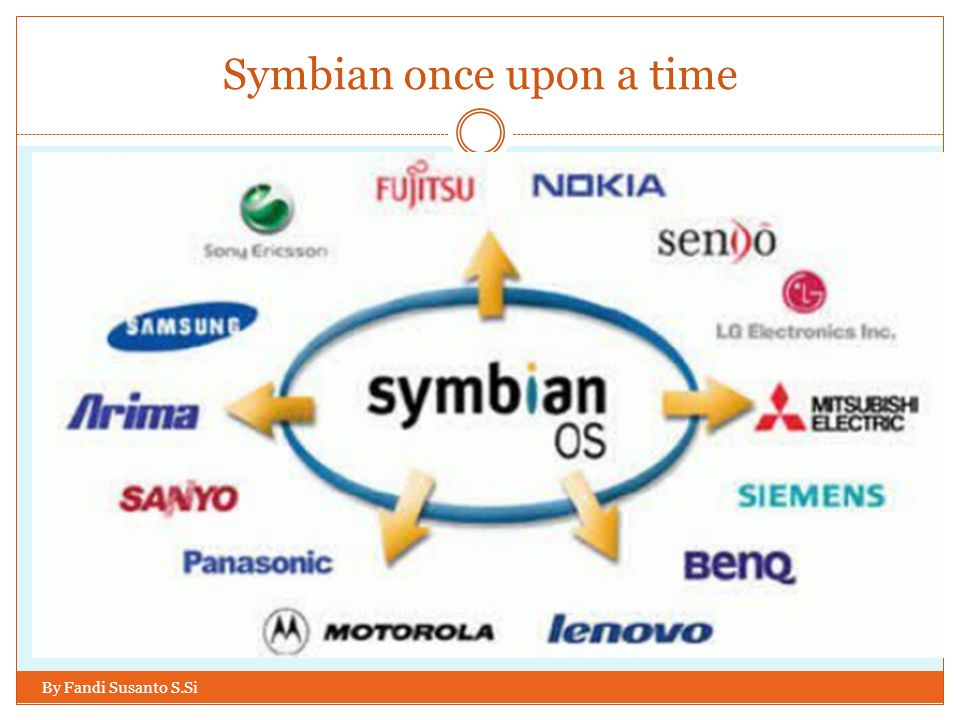 Symbian once upon a time