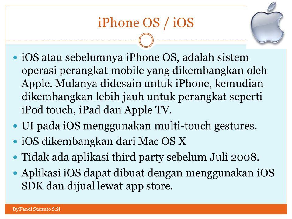 iPhone OS / iOS