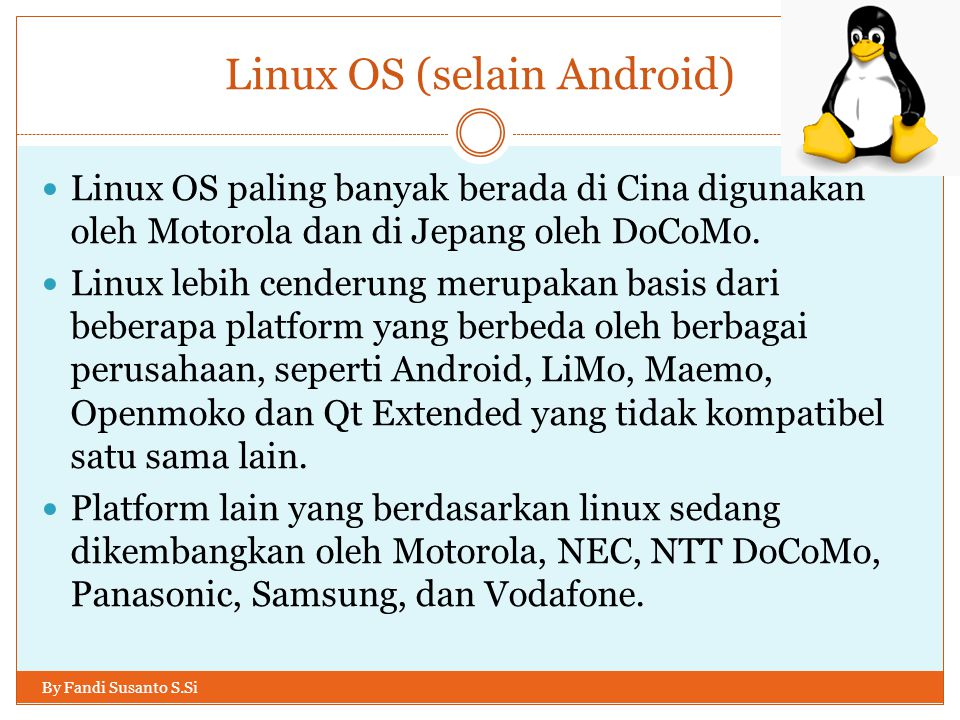 Linux OS (selain Android)
