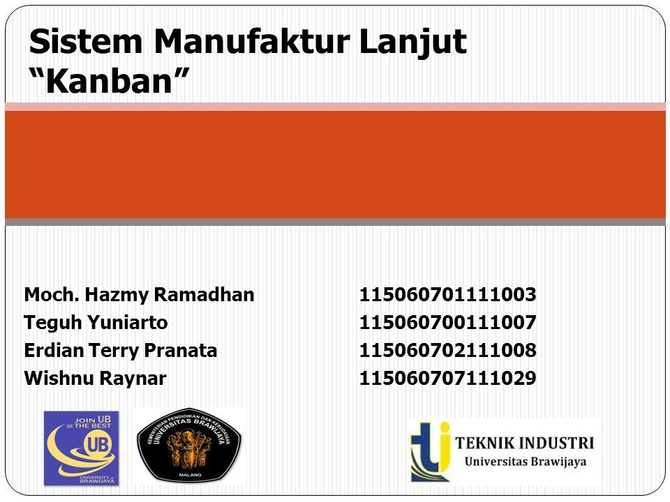 Sistem Manufaktur Lanjut Kanban