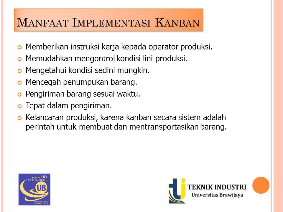 Manfaat Implementasi Kanban