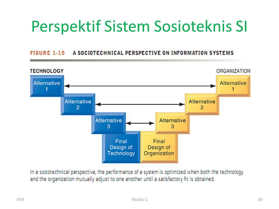 Perspektif Sistem Sosioteknis SI