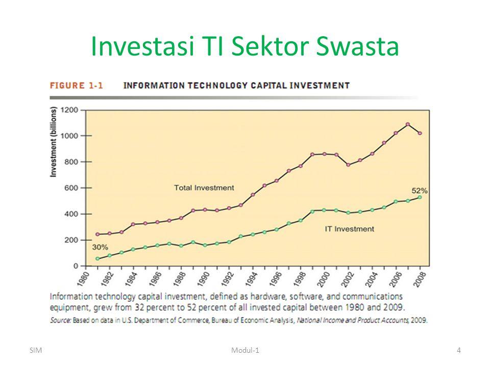 Investasi TI Sektor Swasta