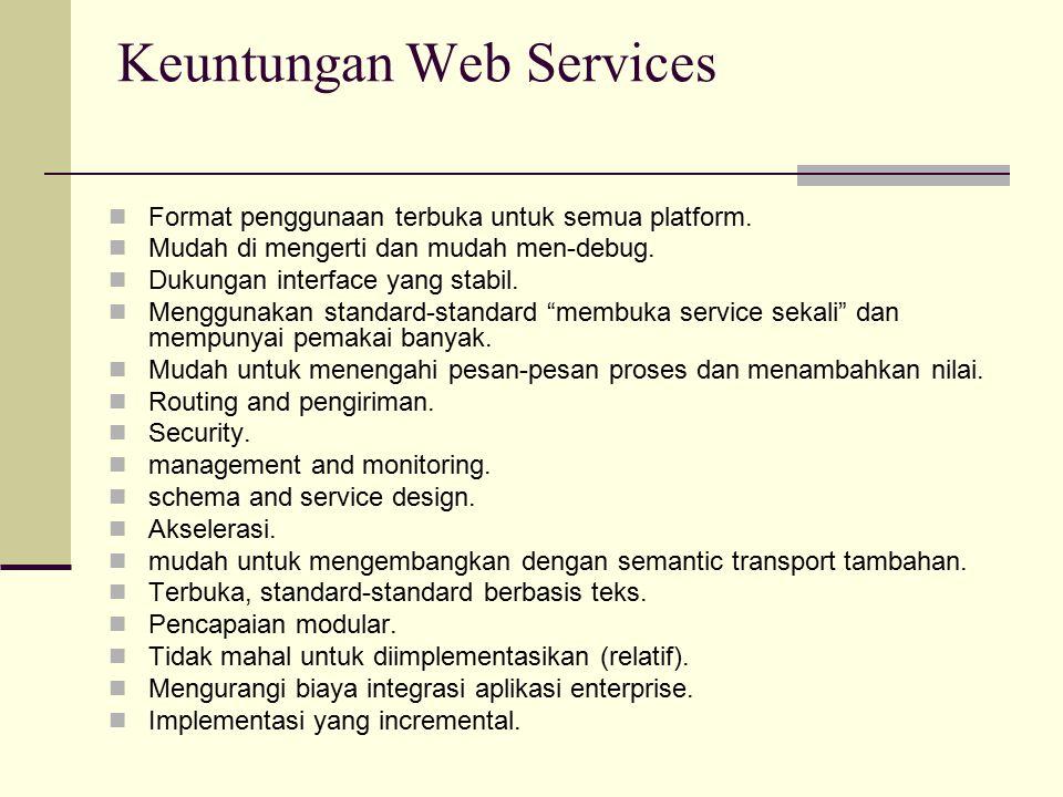 Keuntungan Web Services
