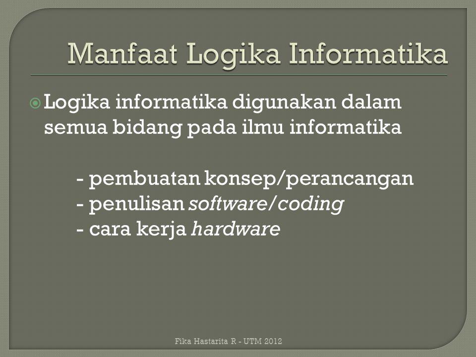 Manfaat Logika Informatika