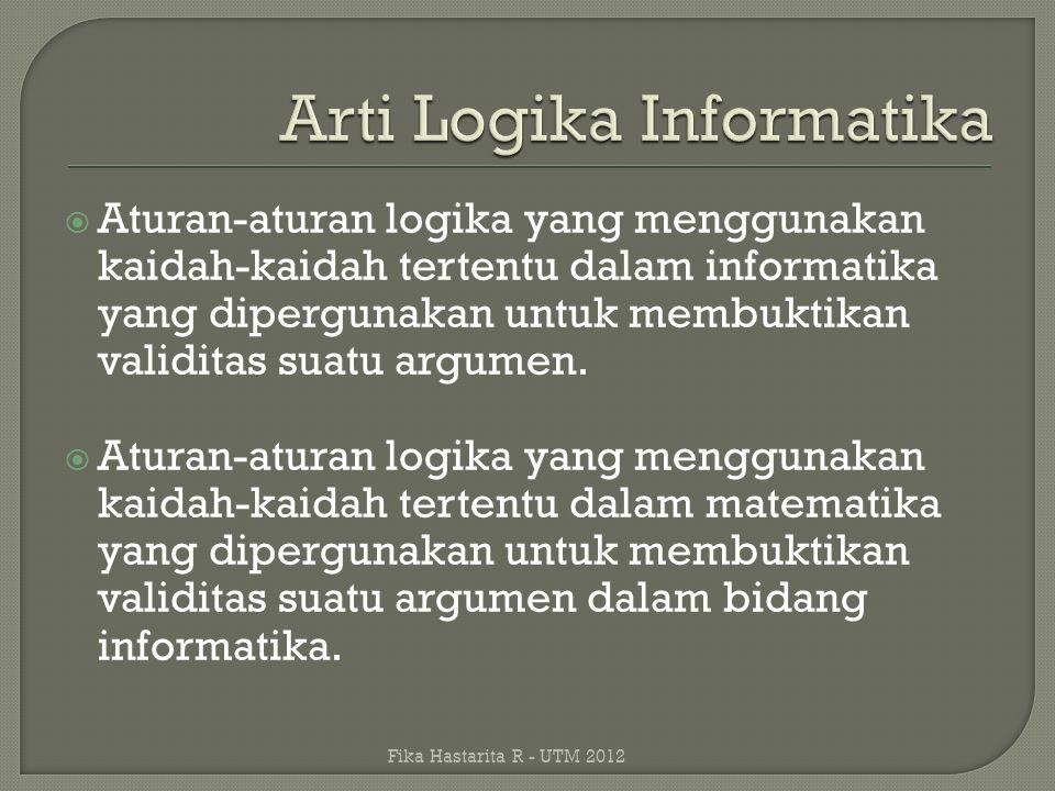Arti Logika Informatika