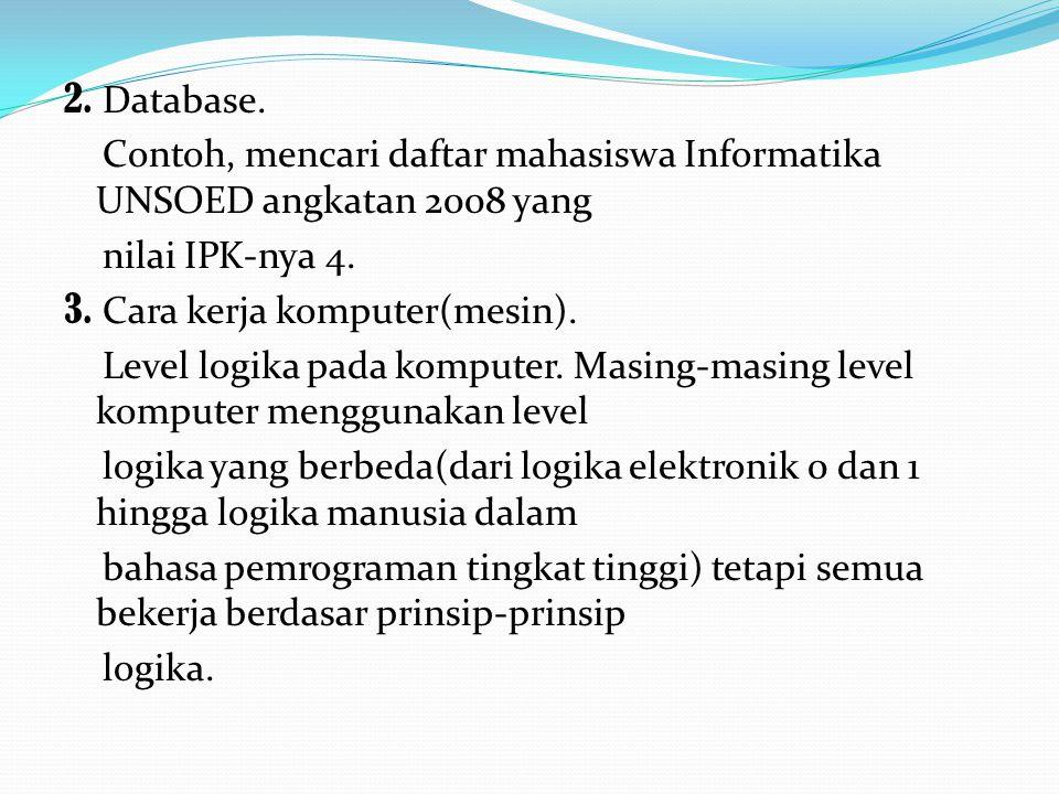 2. Database.