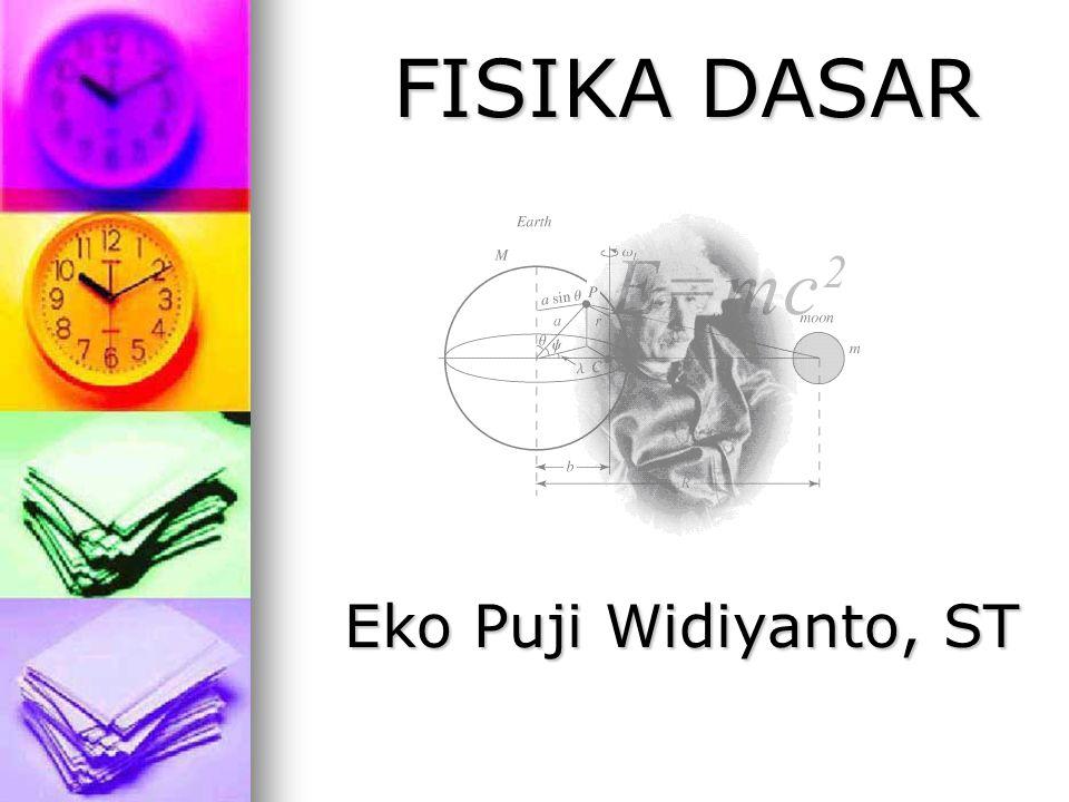 FISIKA DASAR Eko Puji Widiyanto, ST