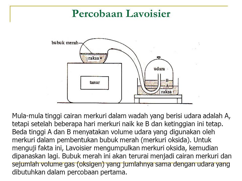 Percobaan Lavoisier