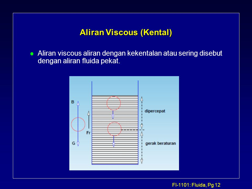 Aliran Viscous (Kental)