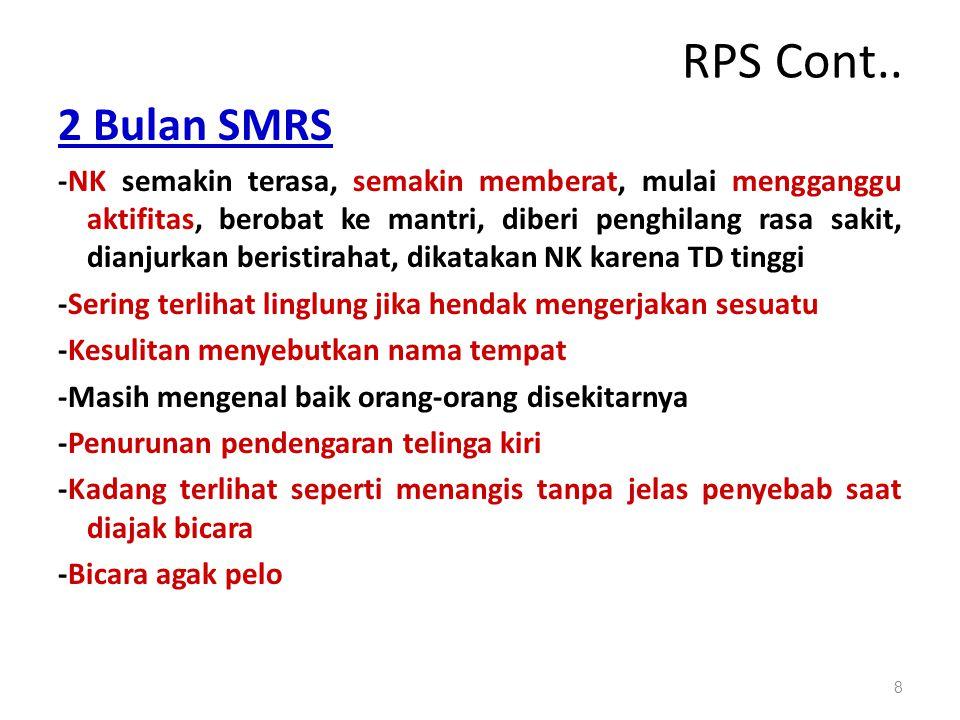 RPS Cont.. 2 Bulan SMRS.