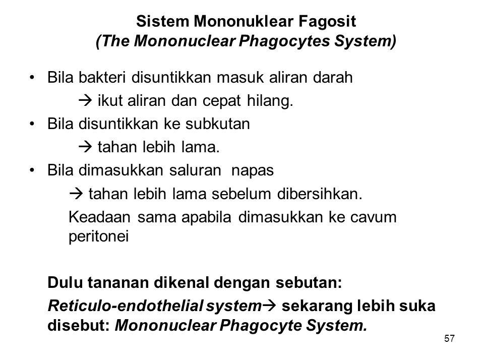 Sistem Mononuklear Fagosit (The Mononuclear Phagocytes System)