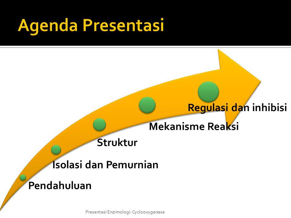 Agenda Presentasi Pendahuluan Isolasi dan Pemurnian Struktur