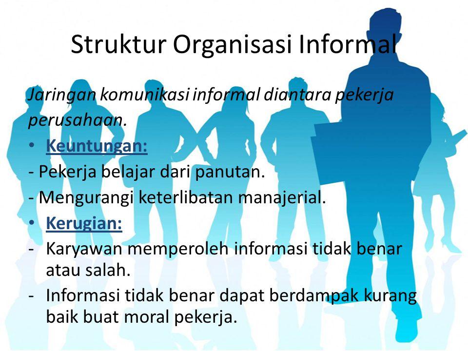 Struktur Organisasi Informal