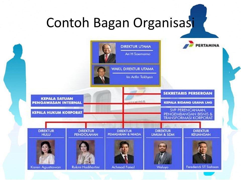 Contoh Bagan Organisasi