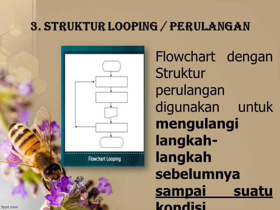 3. Struktur Looping / Perulangan