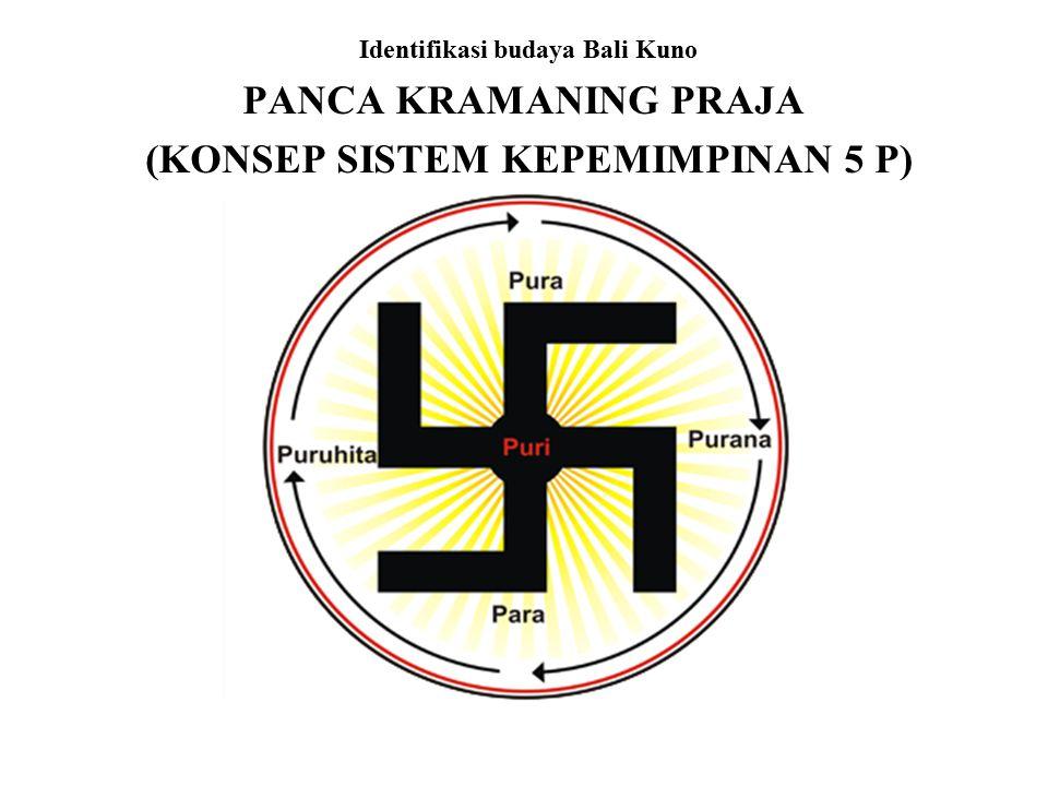 Identifikasi budaya Bali Kuno (KONSEP SISTEM KEPEMIMPINAN 5 P)