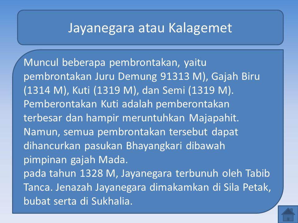 Jayanegara atau Kalagemet