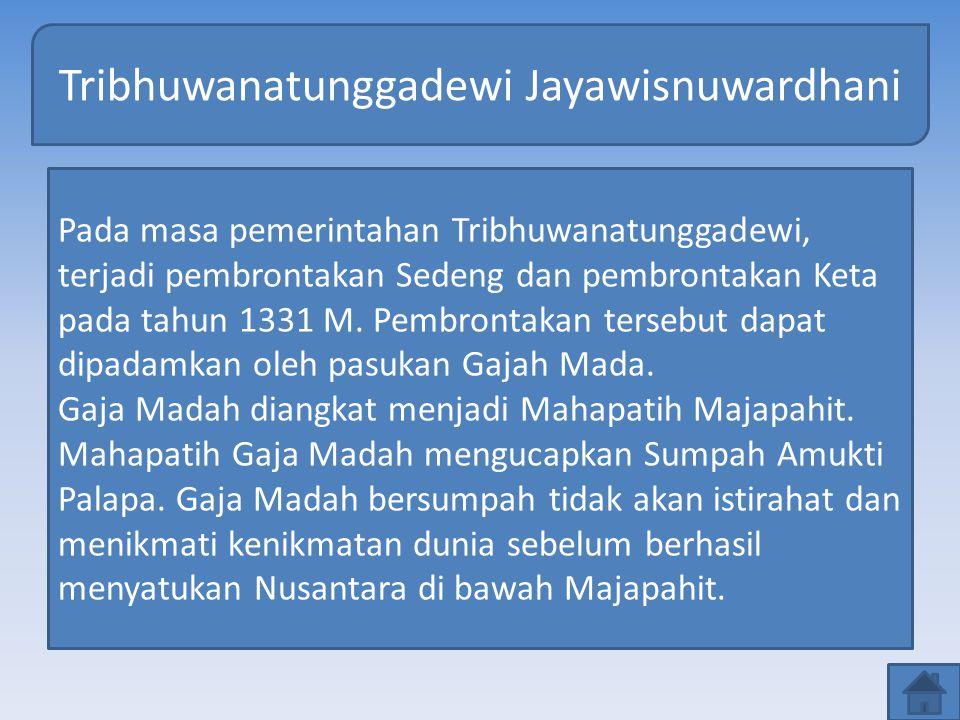 Tribhuwanatunggadewi Jayawisnuwardhani