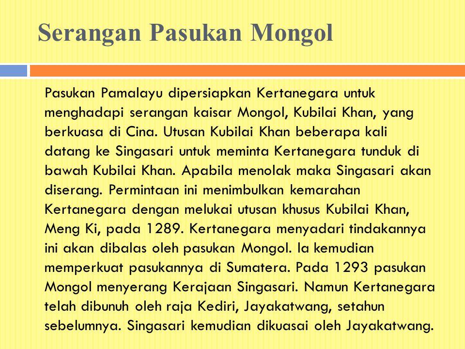 Serangan Pasukan Mongol