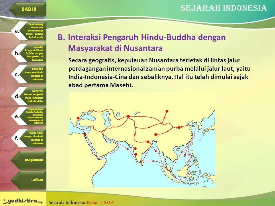 Interaksi Pengaruh Hindu-Buddha dengan Masyarakat di Nusantara