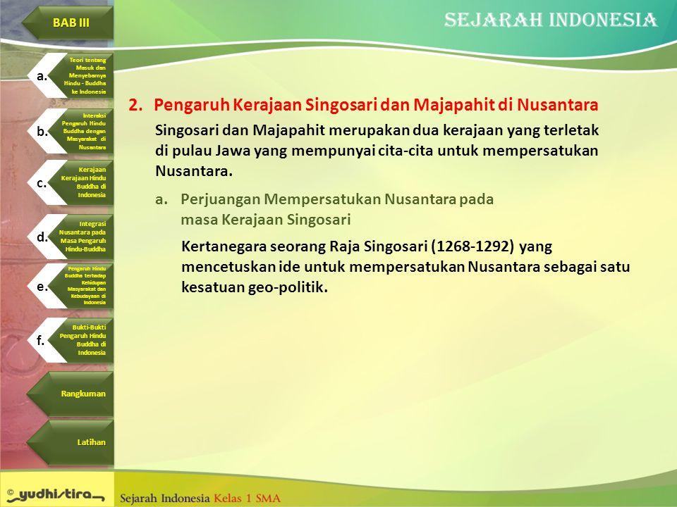 Pengaruh Kerajaan Singosari dan Majapahit di Nusantara