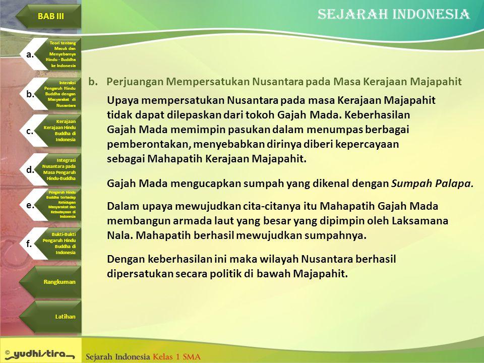 Perjuangan Mempersatukan Nusantara pada Masa Kerajaan Majapahit