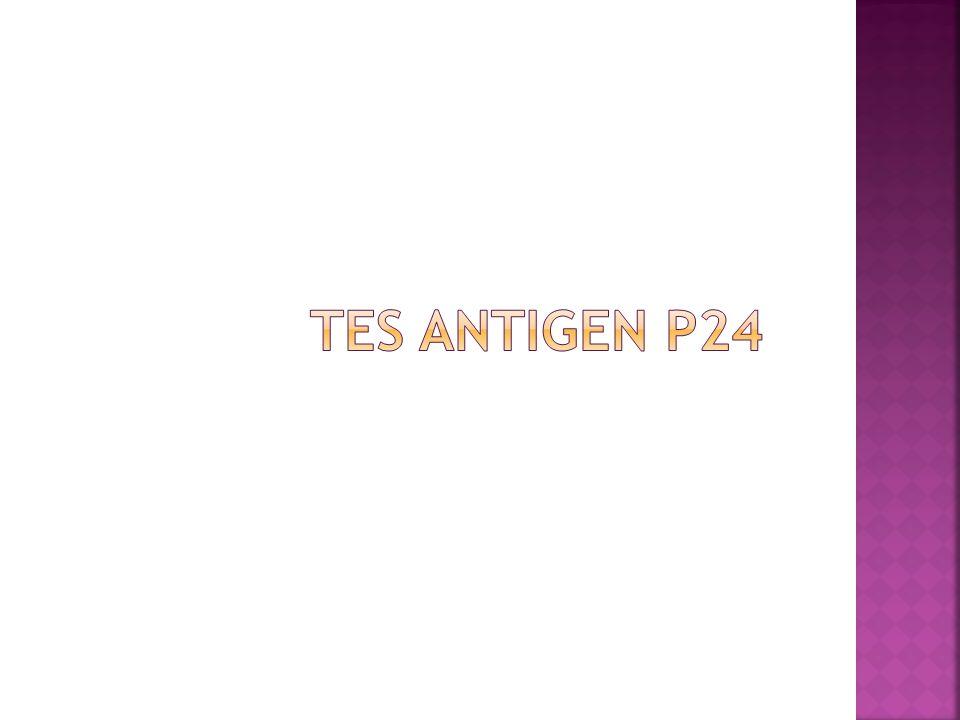 Tes antigen P24