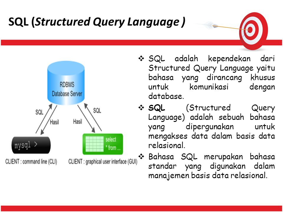 SQL (Structured Query Language )