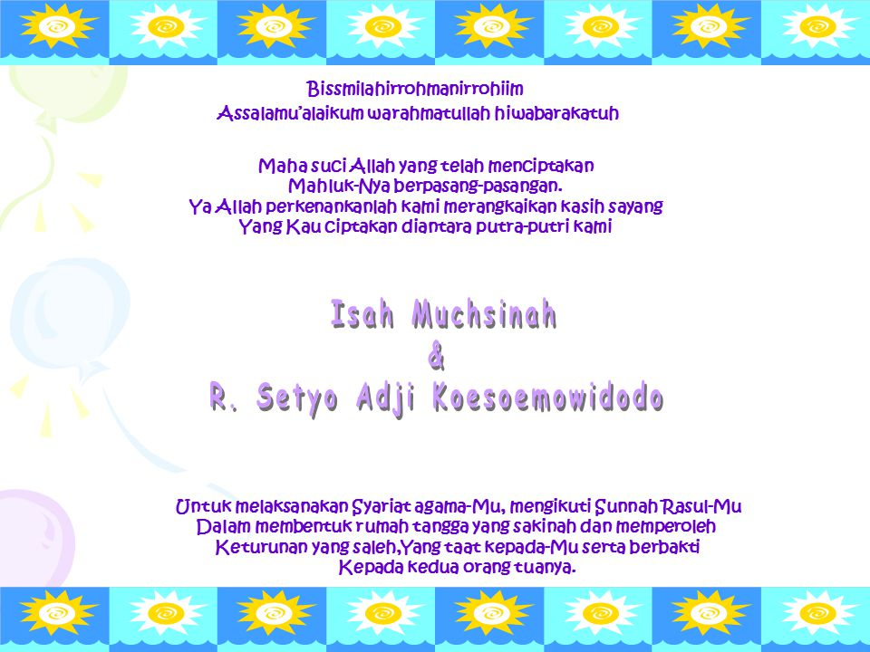 Isah Muchsinah & R. Setyo Adji Koesoemowidodo