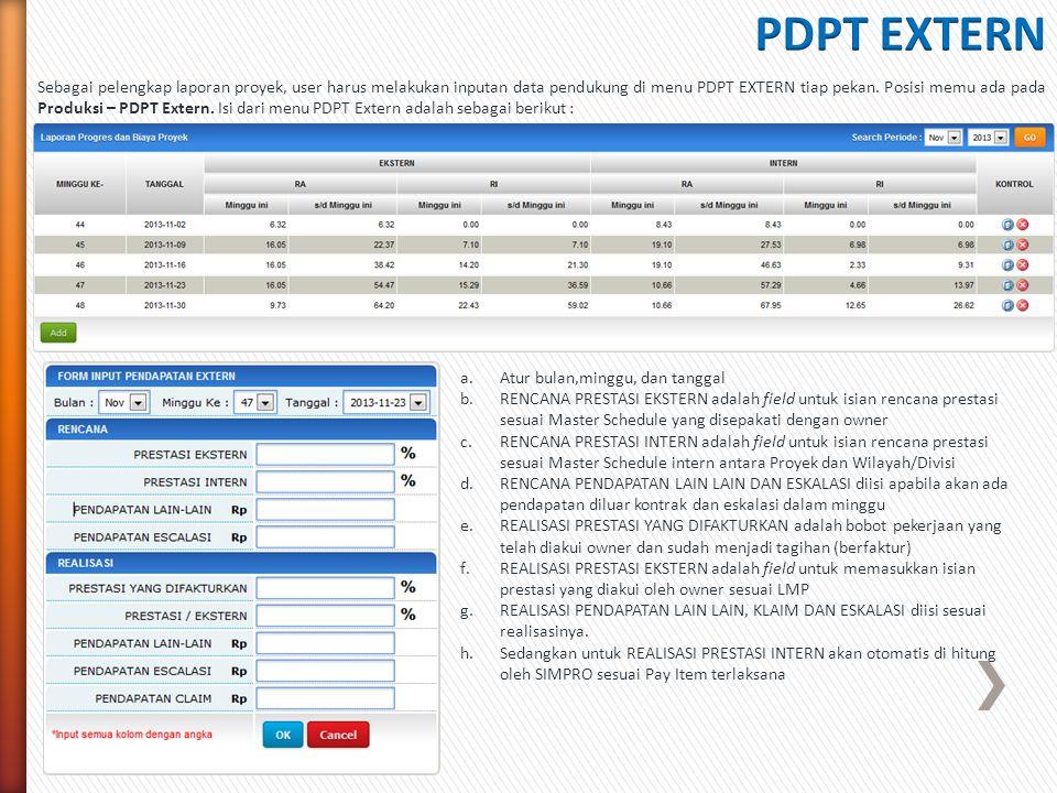 PDPT EXTERN