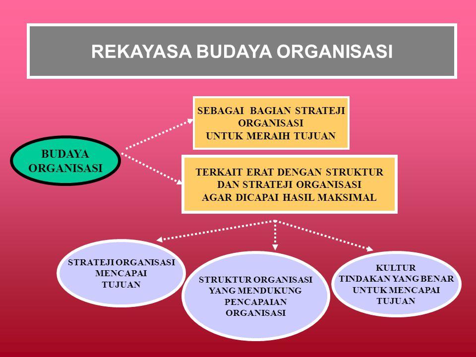 REKAYASA BUDAYA ORGANISASI