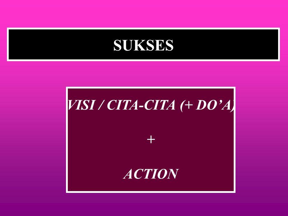 VISI / CITA-CITA (+ DO'A)