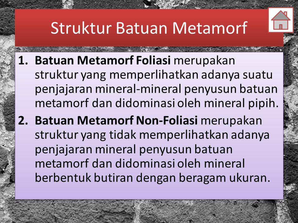 Struktur Batuan Metamorf