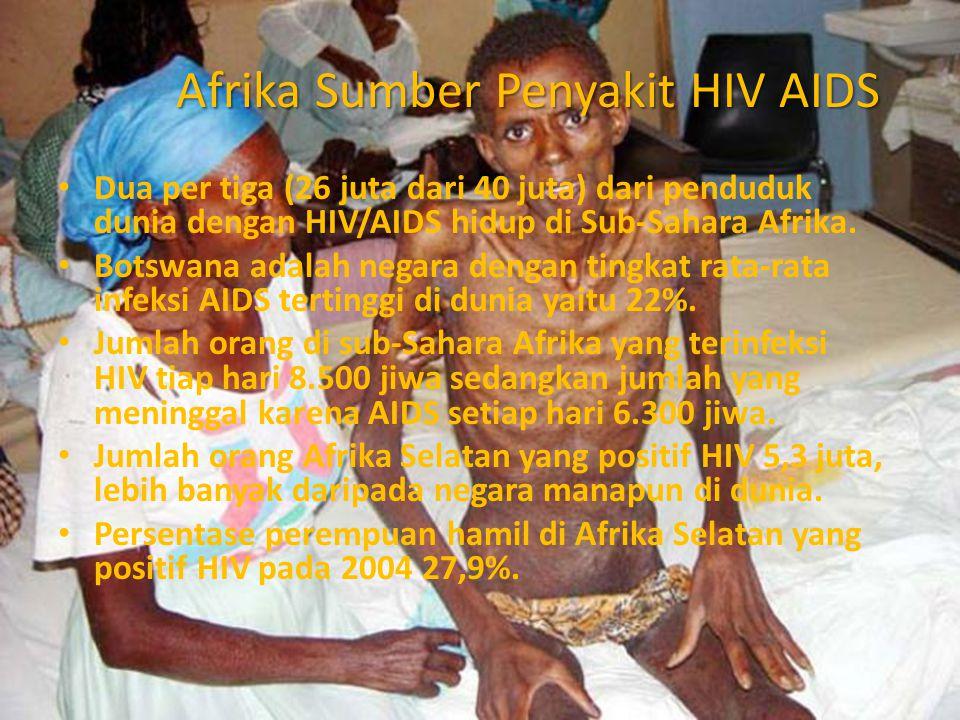 Afrika Sumber Penyakit HIV AIDS