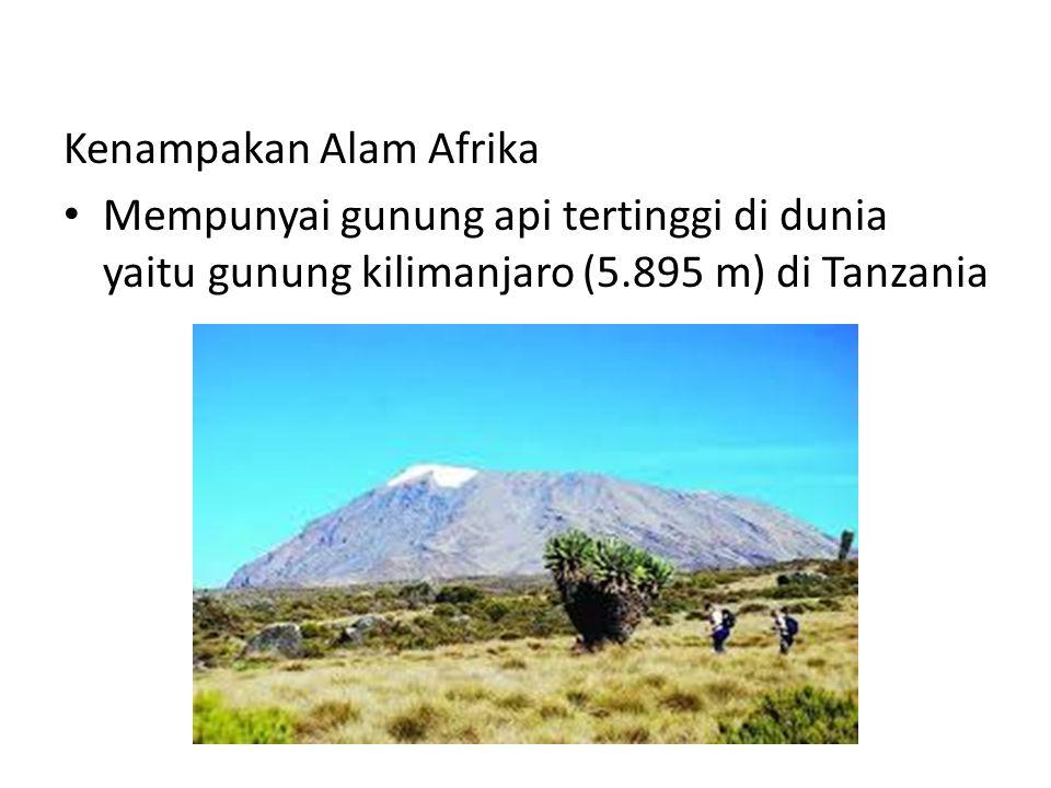 Kenampakan Alam Afrika