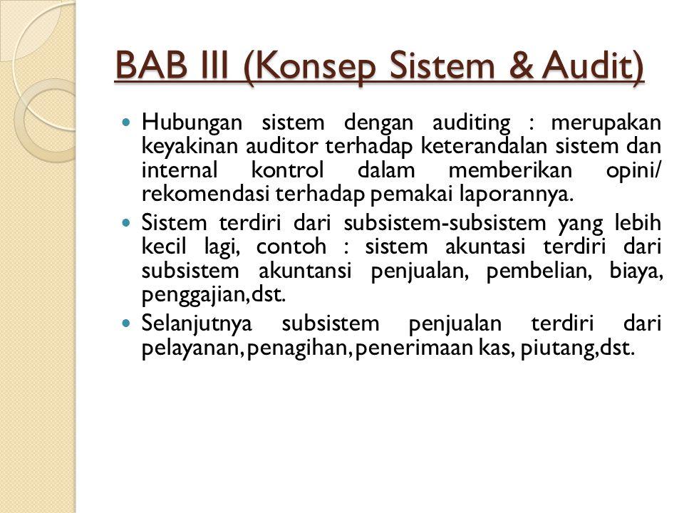 BAB III (Konsep Sistem & Audit)
