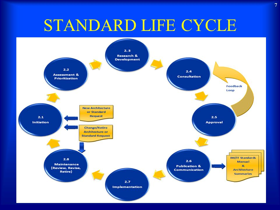 STANDARD LIFE CYCLE