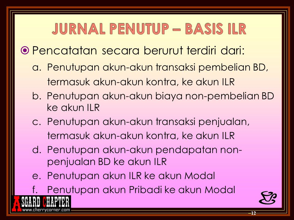 JURNAL PENUTUP – BASIS ILR