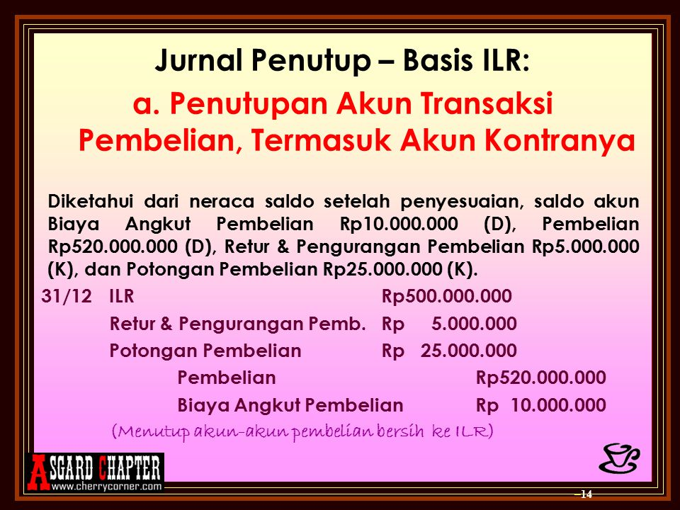 Jurnal Penutup – Basis ILR: