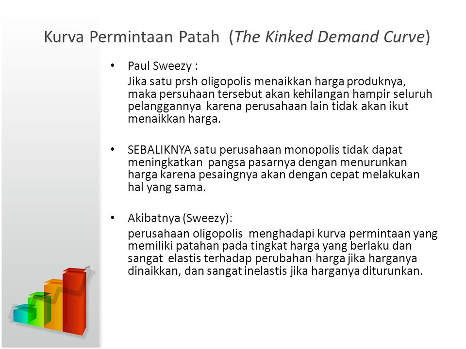 Kurva Permintaan Patah (The Kinked Demand Curve)