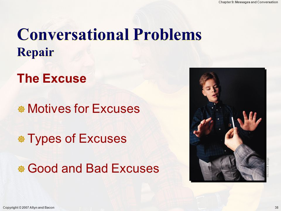 Conversational Problems Repair