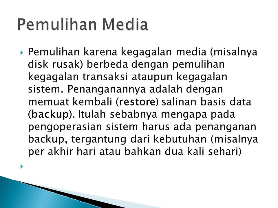 Pemulihan Media