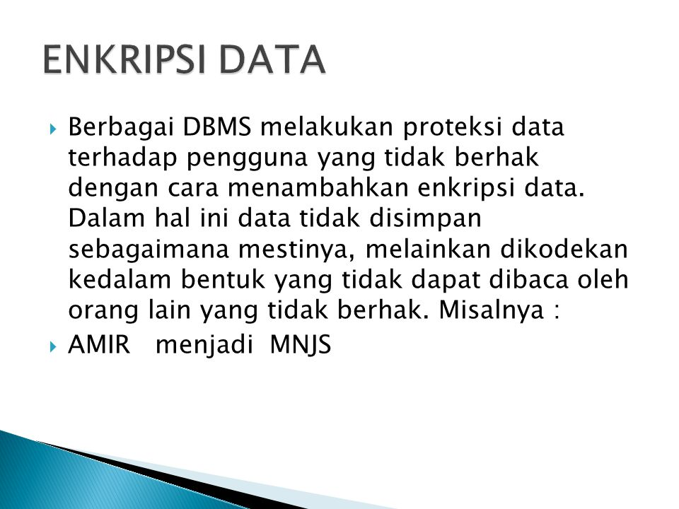 ENKRIPSI DATA