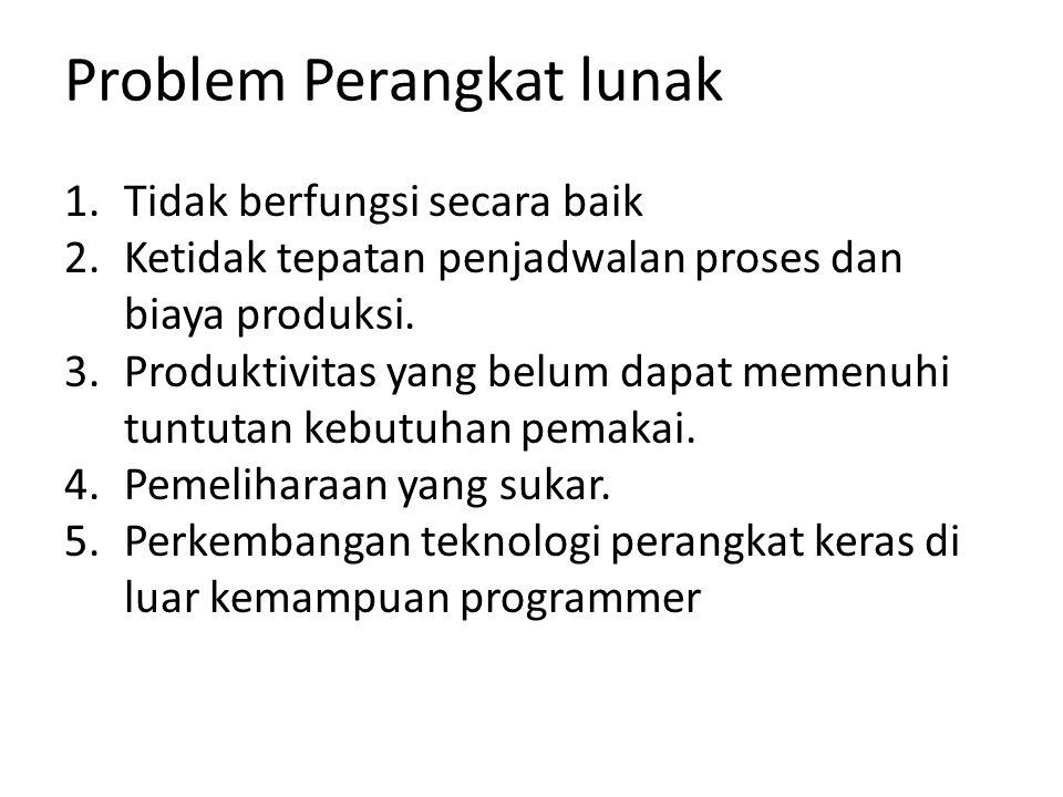 Problem Perangkat lunak